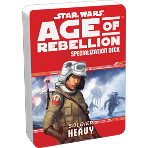 Age of Rebellion RPG: Heavy Soldier Specialization Deck