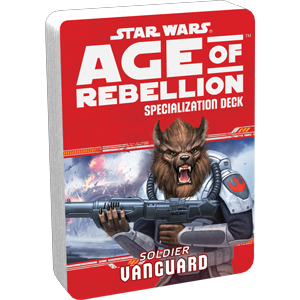 Age of Rebellion RPG: Vanguard Soldier Specialization Deck