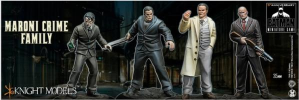 Batman Miniature Game: MARONI CRIME FAMILY