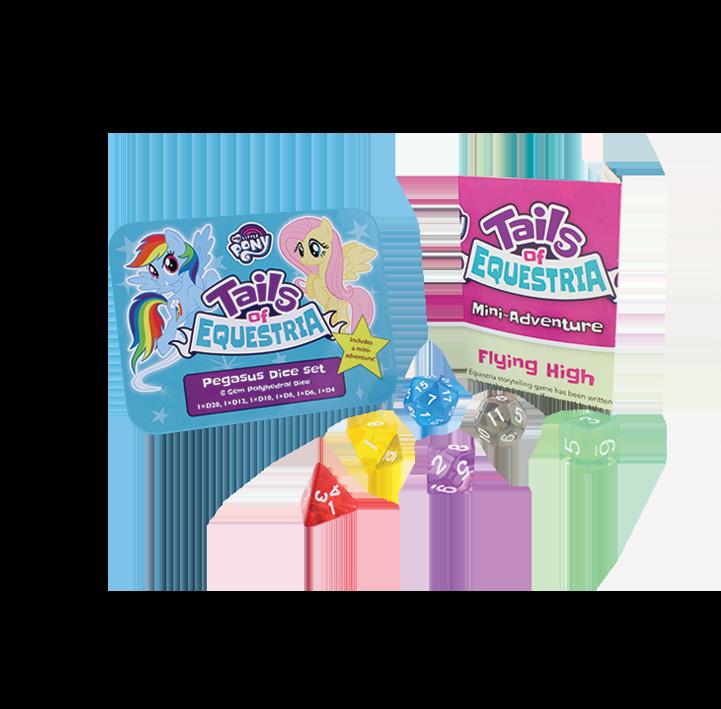 My Little Pony RPG: Pegasus Dice Set