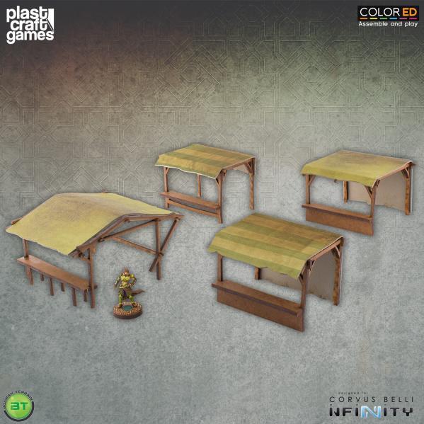 Infinity Terrain: Souk Stands (Color ED)