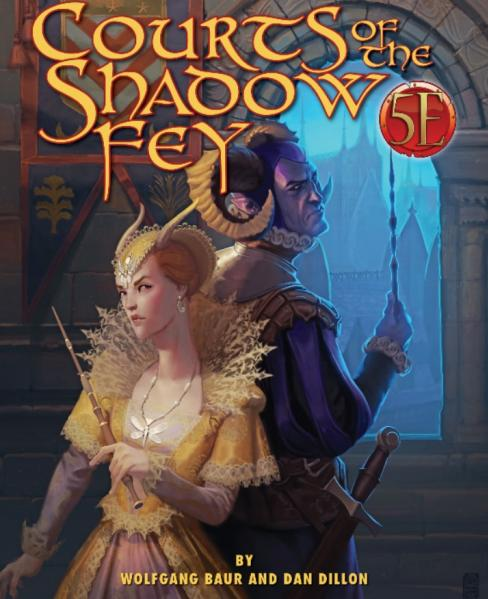 Dungeons & Dragons RPG: Courts of the Shadow Fey for 5th Edition
