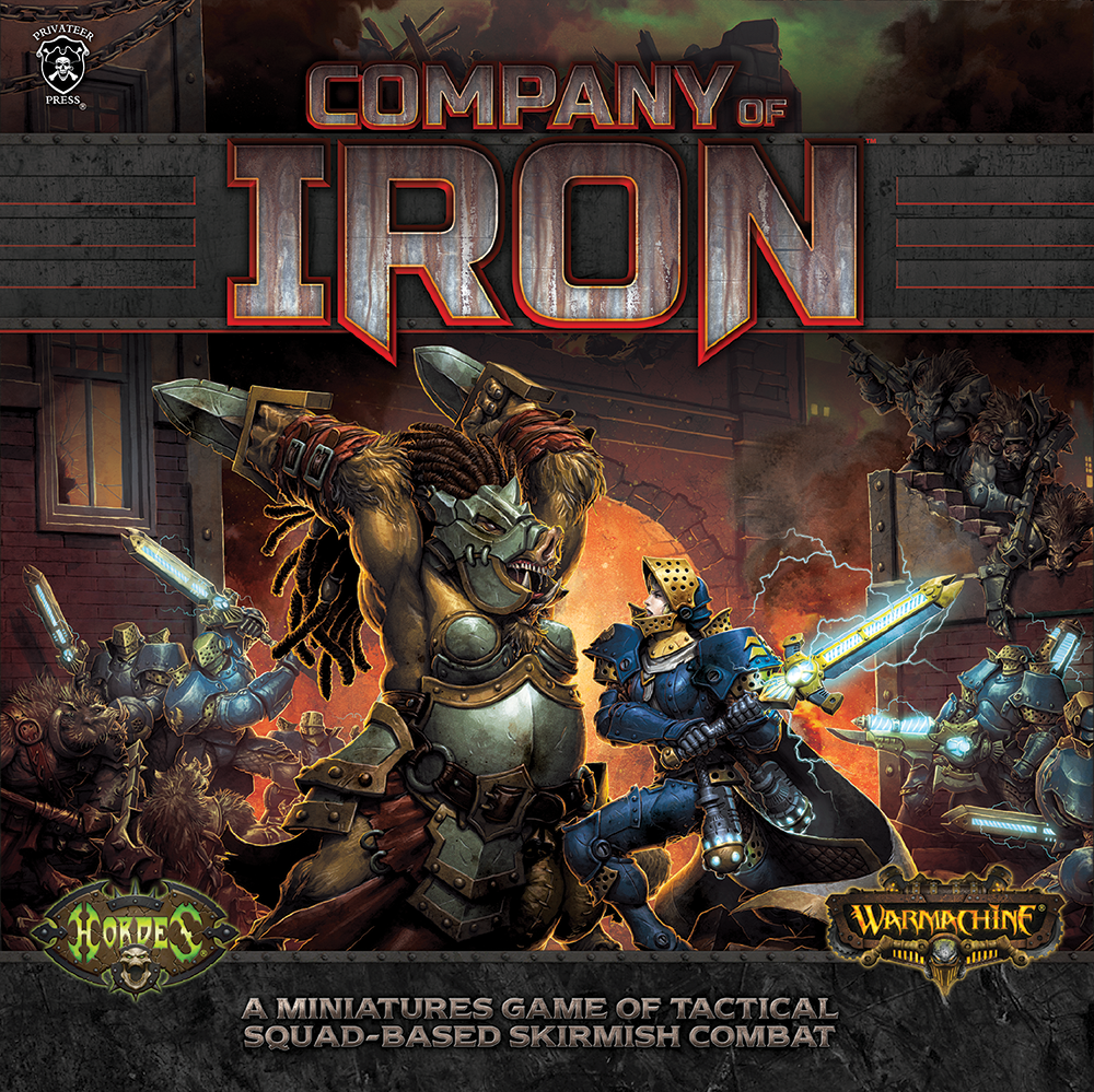 Warmachine: Company of Iron Starter Box