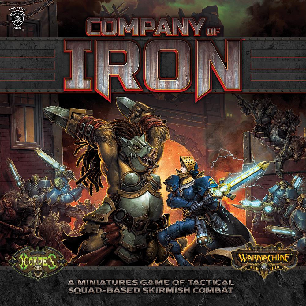 Warmachine: Company of Iron Starter Box