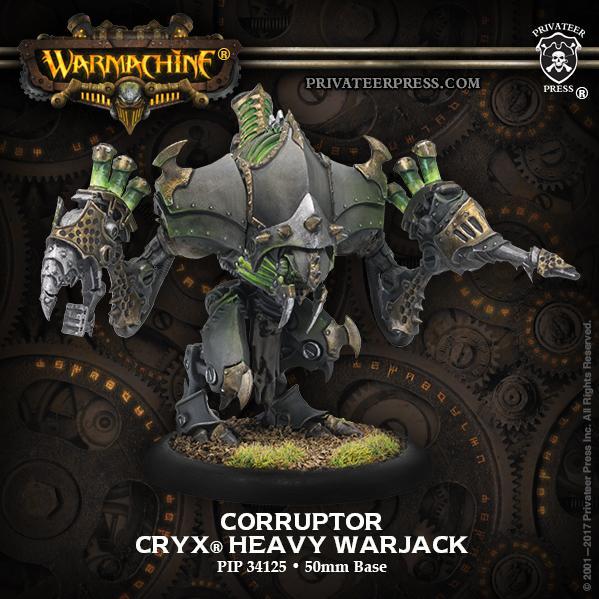 Warmachine: (Cryx) Corruptor/Reaper/Malice - Cryx Heavy Warjack Kit (plastic)