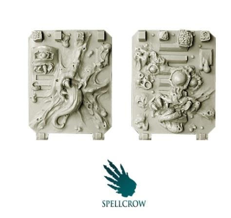 28mm Sci Fi - Plague Legions: Plague Doors for Light Vehicles