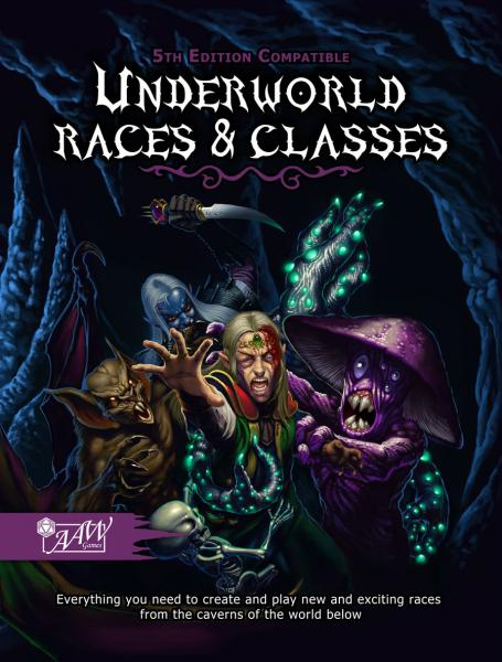D&D 5th Edition: Underworld Races & Classes