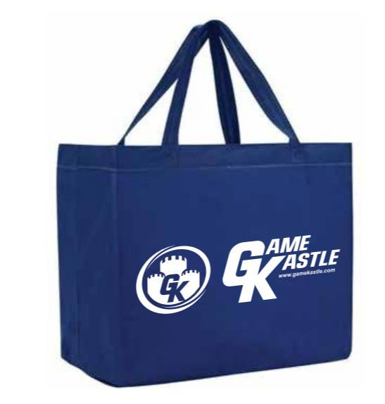 Game Kastle Large Tote Bag (24x13x8)