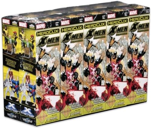 Marvel HeroClix: X-Men Xavier's School Booster Pack (1)