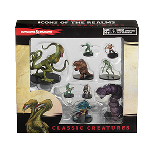 Dungeons & Dragons: Icons of the Realms Classic Creatures Box Set