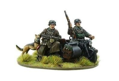 Bolt Action, 2nd Edition: (German) German Feldgendarme Motorcycle Team