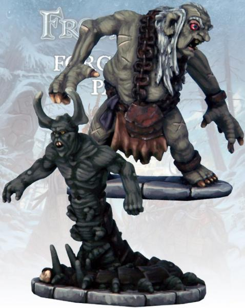 Frostgrave: Failing Wretch and Chilopendra