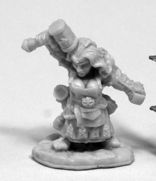 Dark Heaven Bones: Margara, Dwarf Shaman
