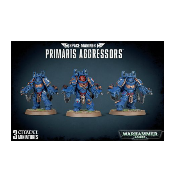 WH40K: SPACE MARINES PRIMARIS AGGRESSORS