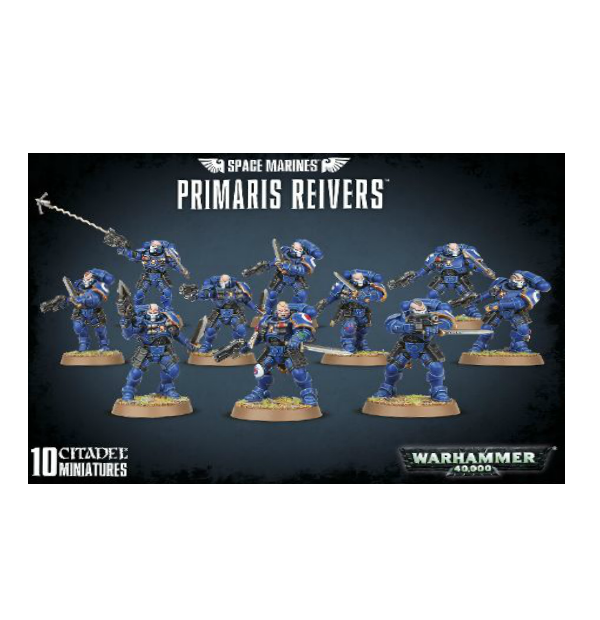 WH40K: SPACE MARINES PRIMARIS REIVERS