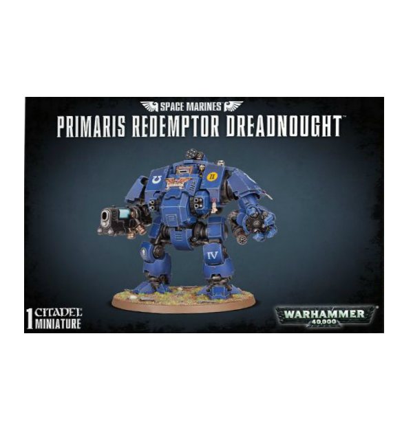 WH40K: SPACE MARINES PRIMARIS REDEMPTOR DREADNOUGHT