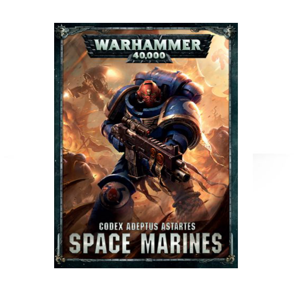 WH40K: Space Marines Codex (HC)