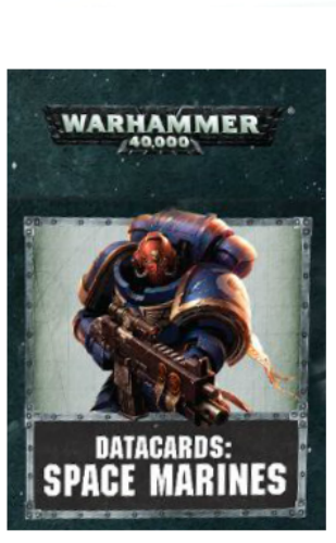 WH40K: SPACE MARINES DATACARDS