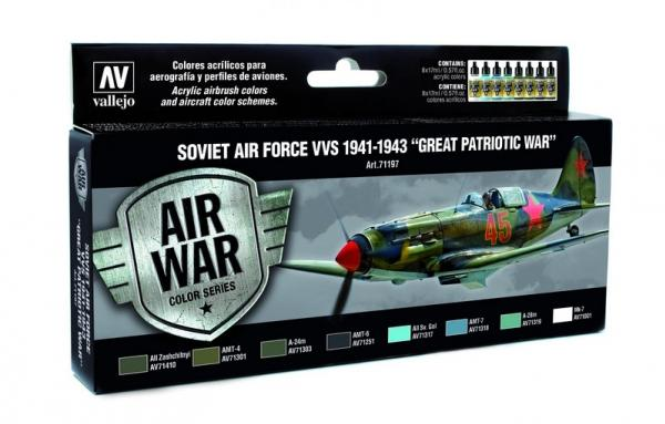 Air War Color Series: Soviet Air Force VVS 1941 to 1943 ''Great Patriotic War''
