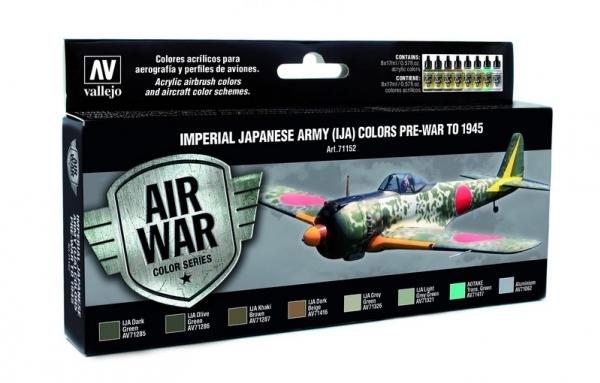 Air War Color Series: Imperial Japanese Army (IJA) Colors Pre-War to 1945 (8)