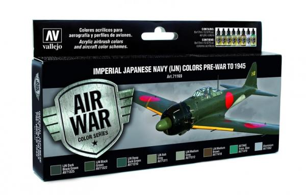 Air War Color Series: Imperial Japanese Navy (IJN) Colors Pre-War to 1945 (8)