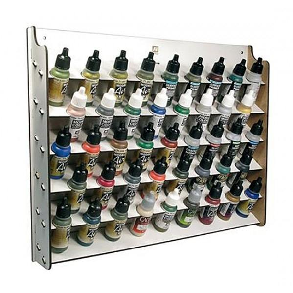 Accessories: Wall Mounted Paint Display (Holds x43 17 ml. bottles)