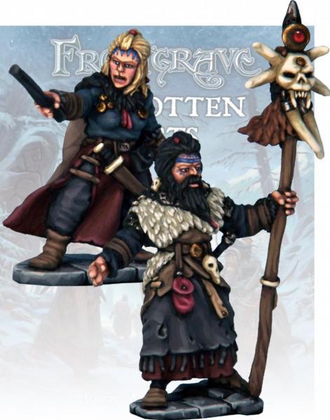 Frostgrave: Barbarian Wizard and Apprentice
