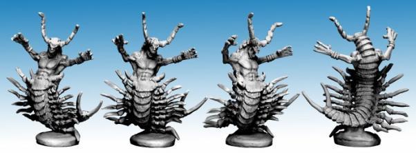 Frostgrave: Centipede Demon