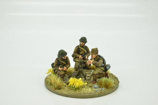 Iron Cross: Romanian Mortar - Summer Uniform