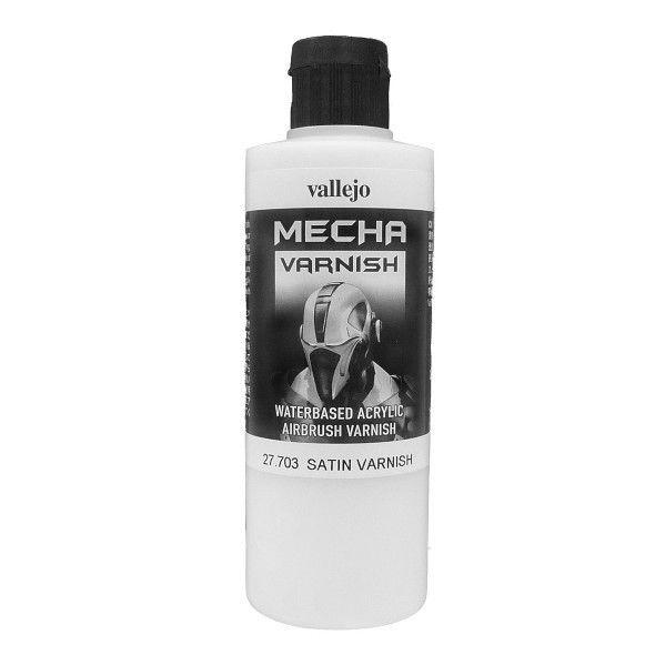Varnishes: Mecha Satin Varnish (200 ml)
