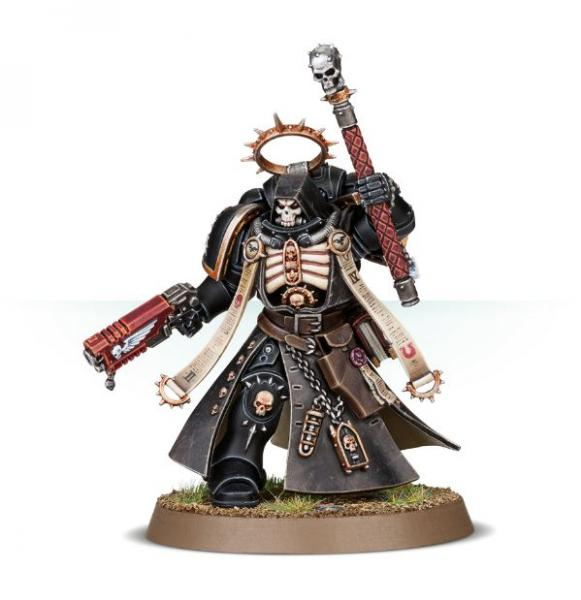 WH40K: SPACE MARINES PRIMARIS CHAPLAIN