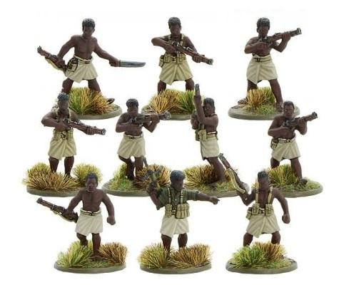Bolt Action, 2nd Edition: Papuan Infantry Battalion Section (10)
