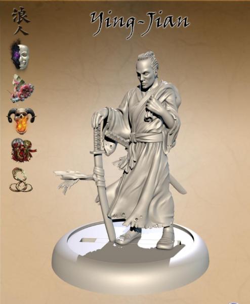 Bushido Miniatures: Ying-Jian