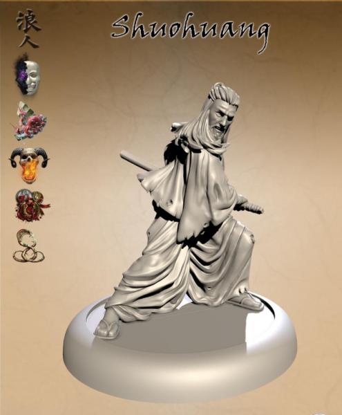 Bushido Miniatures: Shuohuang