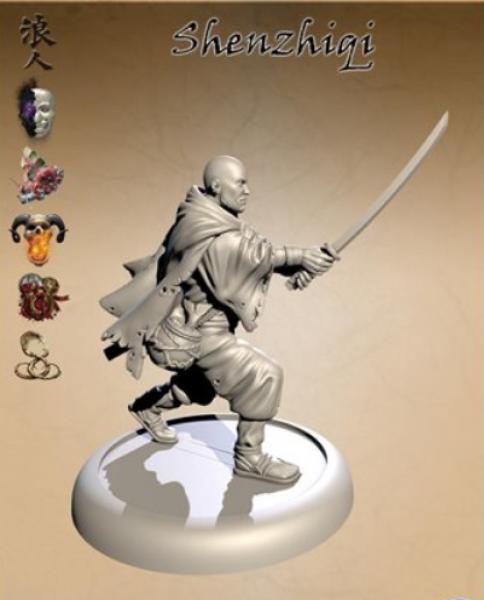 Bushido Miniatures: Shenzhiqi