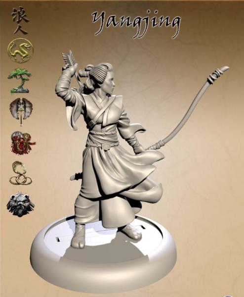 Bushido Miniatures: Yanjing