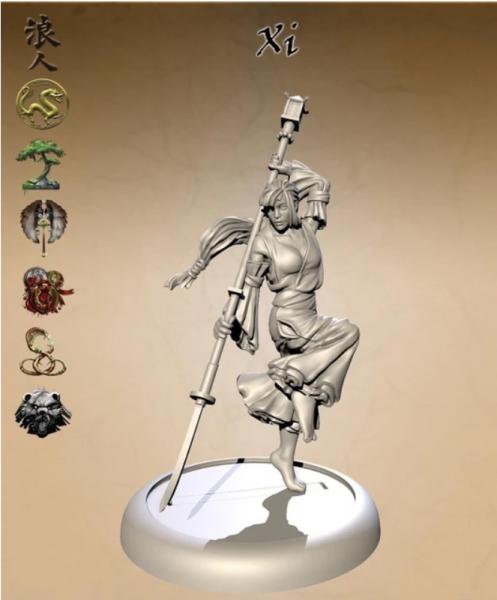 Bushido Miniatures: Xi