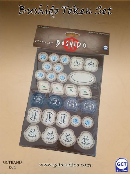 Bushido, Risen Sun: Bushido Token Set (Punch board)