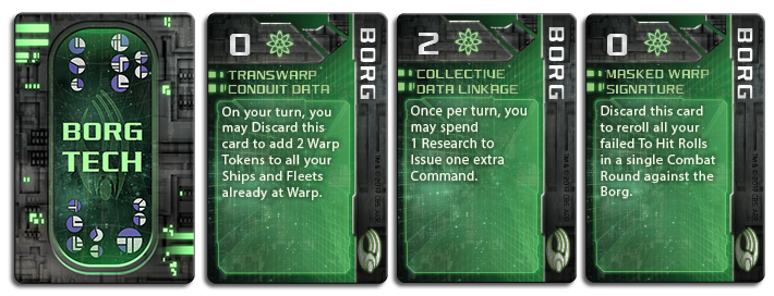 Star Trek Ascendancy: Borg Assimilation [Marked as GF9ST005]