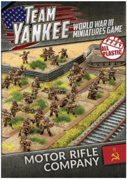Team Yankee: (Soviet) Motor Rifle Company (Plastic)