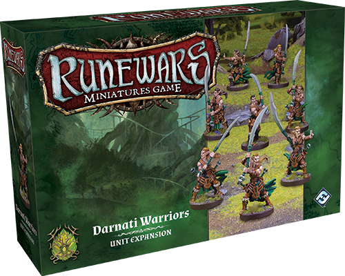 RuneWars: Darnati Warriors Unit Expansion