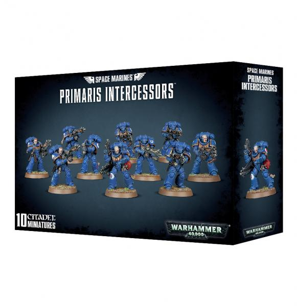WH40K: SPACE MARINES PRIMARIS INTERCESSORS