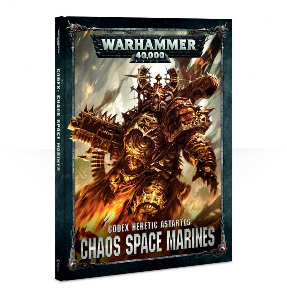 WH40K: Chaos Space Marines Codex (HC)