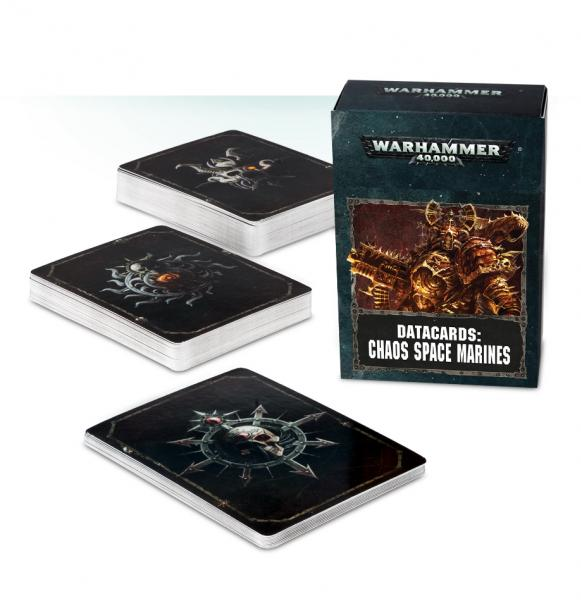 WH40K: CHAOS SPACE MARINES DATACARDS