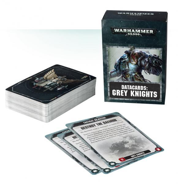 WH40K: GREY KNIGHTS DATACARDS