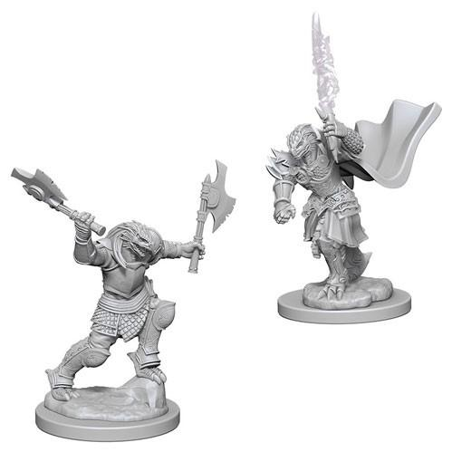 D&D Nolzurs Marvelous Unpainted Minis: Dragonborn Female Fighter