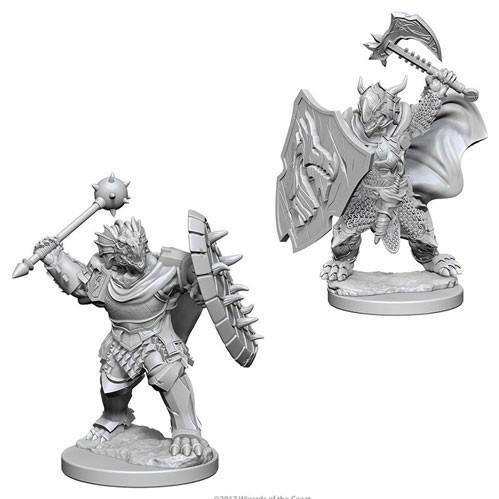 D&D Nolzurs Marvelous Unpainted Minis: Dragonborn Male Paladin