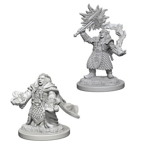 D&D Nolzurs Marvelous Unpainted Minis: Dwarf Female Cleric