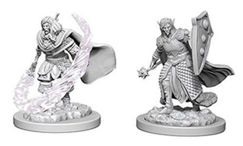 D&D Nolzurs Marvelous Unpainted Minis: Elf Male Cleric