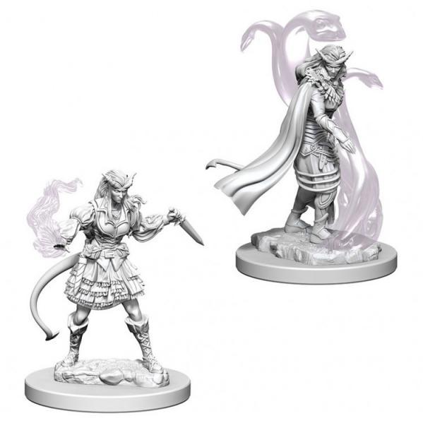D&D Nolzurs Marvelous Unpainted Minis: Tiefling Female Sorcerer